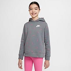 Girls' Nike Sportswear Swooshfetti Pullover Hoodie