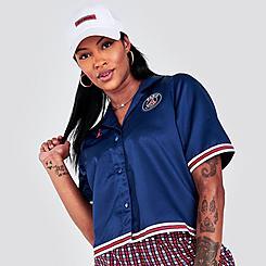 Women's Jordan Paris Saint-Germain Button-Down Shirt