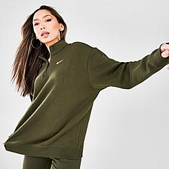 Women's Nike Sportswear Trend Quarter-Zip Fleece Sweatshirt
