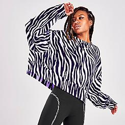 Women's Nike Sportswear Icon Clash Animal Print Crewneck Sweatshirt