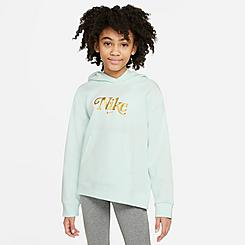 Girls' Nike Sportswear Club Fleece Pullover Hoodie