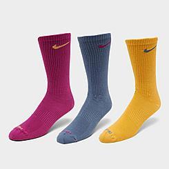 Nike Everyday Plus Lightweight 3-Pack Training Crew Socks