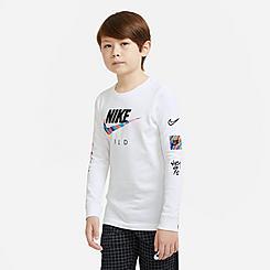Boys' Nike Wild Futura Long-Sleeve T-Shirt