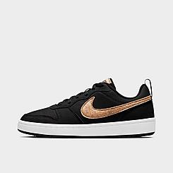 Big Kids' Nike Court Borough Low 2 Canvas Casual Shoes
