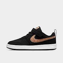 Little Kids' Nike Court Borough Low 2 Canvas Casual Shoes