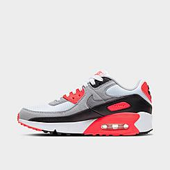 Big Kids' Nike Air Max 90 QS Casual Shoes