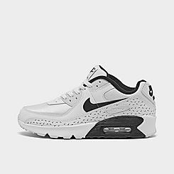 Big Kids' Nike Air Max 90 Swooshfetti Casual Shoes