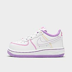 Girls' Toddler Nike Air Force 1 SE Casual Shoes