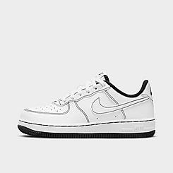 Little Kids' Nike Air Force 1 Stitch Casual Shoes