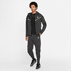 Men's Nike Sportswear Highlight Tape Tech Fleece Jogger Pants