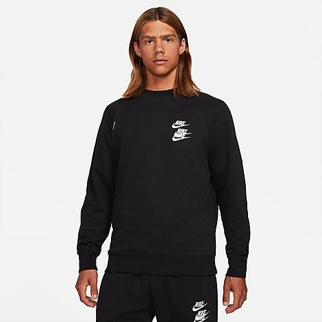 Nike Cottons NIKE MEN'S SPORTSWEAR WORLD TOUR CREWNECK SWEATSHIRT