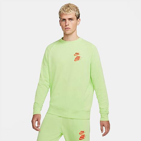 Nike Sweatshirts NIKE MEN'S SPORTSWEAR WORLD TOUR CREWNECK SWEATSHIRT