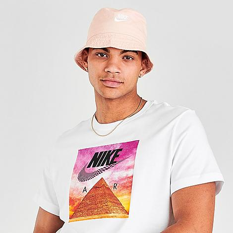 Nike Men's Sportswear Festival Pyramid T-Shirt in White/White Size Large Cotton/Polyester/Knit Size & FitStandard fit for a relaxed, easy feel Product FeaturesSoft, lightweight knit fabric Iconic Nike Air and Swoosh branding graphic Cotton and polyester blend Machine wash The Nike Sportswear Festival Pyramid T-Shirt is imported. Expand your consciousness and closet with the Men's Nike Sportswear Festival Pyramid T-Shirt. A swirling checkerboard Swoosh over an eye-popping pyramid graphic gives off groovy vibes for the perfect summer shirt. Size: Large. Color: White. Gender: male. Age Group: adult. Pattern: Graphic/Check. Material: Cotton/Polyester/Knit. Nike Men's Sportswear Festival Pyramid T-Shirt in White/White Size Large Cotton/Polyester/Knit