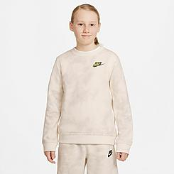 Kids' Nike Sportswear Magic Club Crewneck Sweatshirt