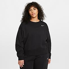 Women's Nike Sportswear Essential Fleece Crewneck Sweatshirt (Plus Size)
