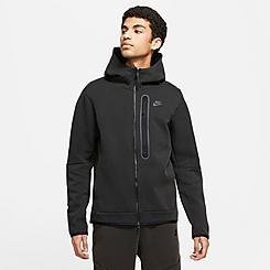 Men's Nike Sportswear Washed Tech Fleece Full-Zip Hoodie