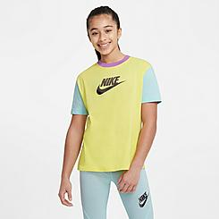 Girls' Nike Sportswear Colorblock T-Shirt
