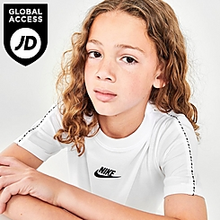 Kids' Nike Sportswear Repeat Tape T-Shirt