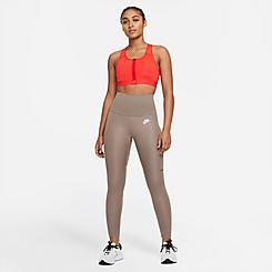 Women's Nike Air Dri-FIT Fold-Over Waist 7/8 Running Leggings