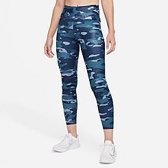 Women's Nike Dri-FIT One Mid-Rise Camo Leggings
