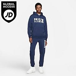 Men's Nike Sportswear Graphic Print Fleece Jogger Pants