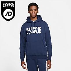 Men's Nike Sportswear Graphic Print Fleece Hoodie