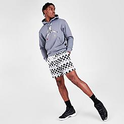 Men's Jordan Legacy AJ3 Allover Checker Printed Shorts