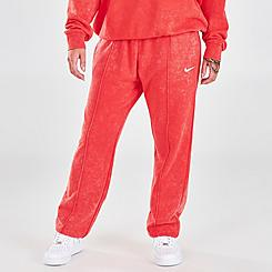 Women's Nike Sportswear Essential Collection Washed Fleece Jogger Pants
