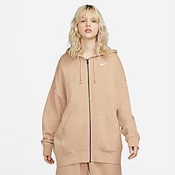 Women's Nike Sportswear Essentials Full-Zip Fleece Hoodie