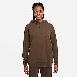 Women's Nike Sportswear Essential Collection Acid Washed Fleece Hoodie