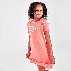 Girls' Nike Sportswear Futura T-Shirt Dress