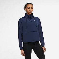 Women's Nike Pro Dri-FIT Packable Half-Zip Jacket