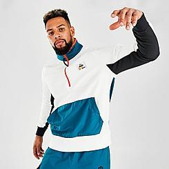 Men's Nike Sportswear Winter Utility Half-Zip Fleece Jacket