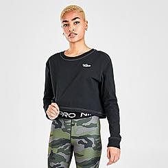 Women's Nike Sportswear Crop Long-Sleeve T-Shirt