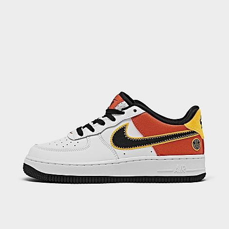 Nike NIKE BIG KIDS' X ROSWELL RAYGUNS AIR FORCE 1 LV8 1 CASUAL SHOES