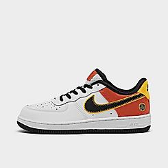 Little Kids' Nike x Roswell Rayguns Air Force 1 LV8 1 Casual Shoes