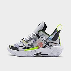 "Big Kids' Jordan ""Why Not?"" Zer0.4 Graffiti Basketball Shoes"