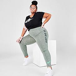Women's Nike Sportswear Radical Leg-A-See High-Rise Leggings (Plus Size)