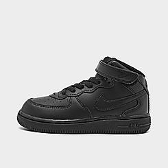 Kids' Toddler Nike Air Force 1 Mid Casual Shoes