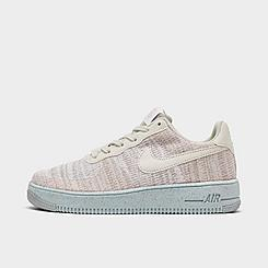 Big Kids' Nike Air Force 1 Crater Flyknit Casual Shoes