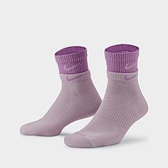 Nike Everyday Plus Cushioned Training Quarter Socks (2-Pack)