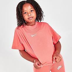 Girls' Nike Sportswear Essential Boxy T-Shirt