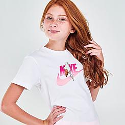 Girls' Nike Sportswear Ice Cream Futura T-Shirt