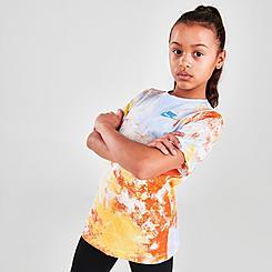 Kids' Nike Sportswear Run Wild Sky Dye Print T-Shirt