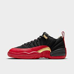 Big Kids' Air Jordan Retro 12 SE Low Basketball Shoes