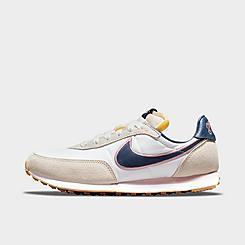 Girls' Big Kids' Nike Waffle Trainer 2 SE Casual Shoes