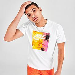 Men's Nike Sportswear Swoosh By Air Graphic T-Shirt