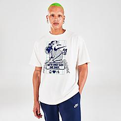 Men's Nike Sportswear Only One Shot Graphic Printed T-Shirt