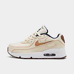 Little Kids' Nike Air Max 90 SE Casual Shoes