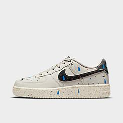 Big Kids' Nike Air Force 1 LV8 3 Paint Splatter Casual Shoes